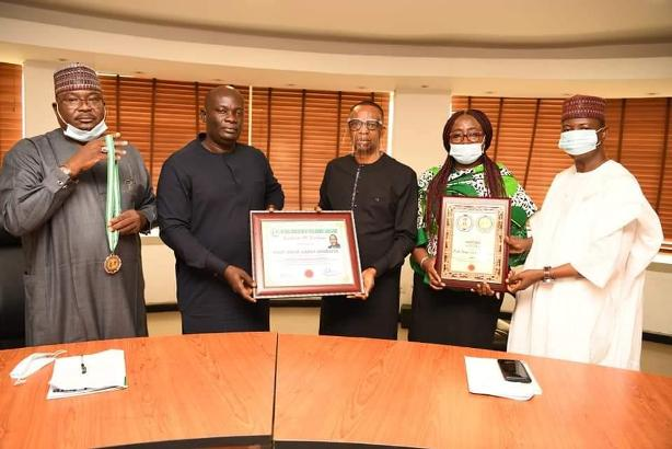 Danbatta receives Awards